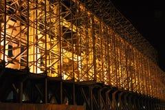 iluminaci noc Obrazy Stock