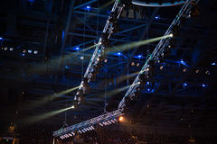 Iluminación de la etapa Fotos de archivo libres de regalías