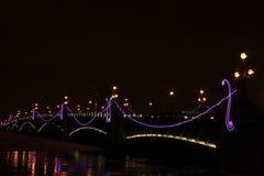 Iluminación de la noche Foto de archivo
