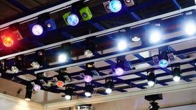 Iluminación llevada de la etapa Imagen de archivo
