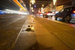Iluminaciones de Blackpool fotos de archivo