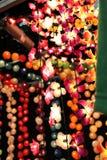 Iluminaciones decorativas Imágenes de archivo libres de regalías