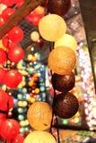 Iluminaciones decorativas Imagen de archivo libre de regalías