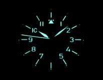 Iluminacja Stowa pilota zegarek Zdjęcia Royalty Free