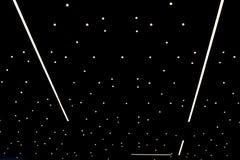 Iluminacja w postaci gwiaździstego nieba obraz stock
