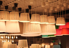 Iluminando a loja Imagem de Stock Royalty Free