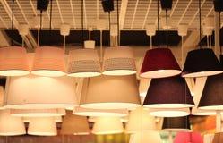 Iluminando a loja Fotos de Stock Royalty Free