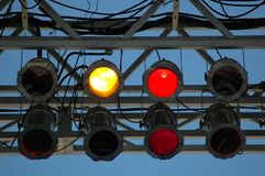 Iluminação do estágio Imagens de Stock Royalty Free