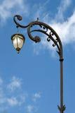 Iluminazione pubblica d'annata Fotografie Stock Libere da Diritti