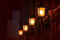 Iluminazioni pubbliche fotografie stock libere da diritti