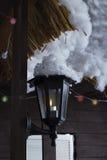 Iluminazioni pubbliche Fotografia Stock