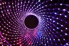Iluminazioni pubbliche astratte luminose fotografia stock