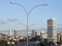Iluminazioni pubbliche a Costantinopoli Immagine Stock Libera da Diritti