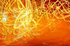 Iluminazioni pubbliche astratte Immagine Stock Libera da Diritti