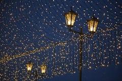 Iluminazioni pubbliche - lanterna Fotografia Stock