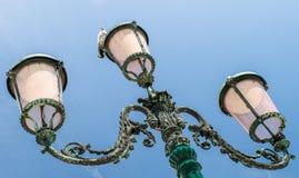 Iluminazioni pubbliche a Venezia Fotografie Stock