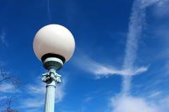 Ilumine acima o céu foto de stock