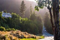 Ilumine acima sua viagem de Nova Zelândia Fotos de Stock Royalty Free