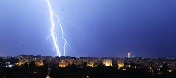 Ilumine a cidade Foto de Stock