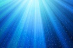 Ilumine com os pontos no fundo azul na tecnologia ilustração royalty free e332d76987dad