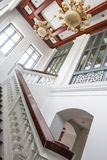 Ilumine escadas Fotografia de Stock