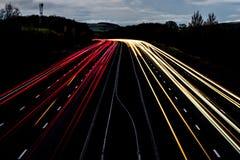 Ilumine fugas Foto de Stock