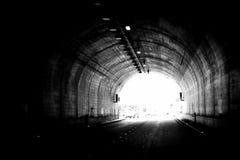 Ilumine na extremidade do túnel 2 Imagem de Stock