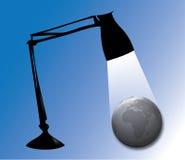 Ilumine o mundo Fotografia de Stock