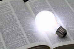 Iluminująca żarówka Obraz Stock