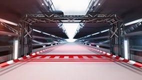 Iluminująca biegowego śladu meta Zdjęcie Stock