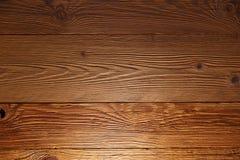 Iluminująca drewniana ściana w domu fotografia royalty free