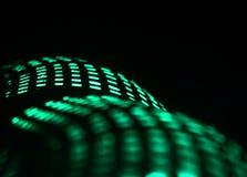 Iluminująca plamy tła fotografia i światła Obraz Royalty Free