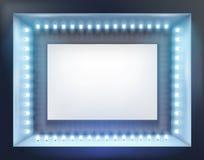 Iluminujący sklepowy okno również zwrócić corel ilustracji wektora ilustracja wektor