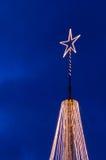 iluminująca gwiazda Zdjęcie Royalty Free