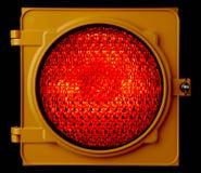 iluminujący lekki czerwony ruch drogowy Obraz Royalty Free