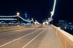 Iluminujący Most obraz royalty free
