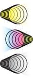 Ilusão óptica Imagens de Stock Royalty Free