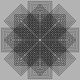 Ilusão ótica Imagem de Stock