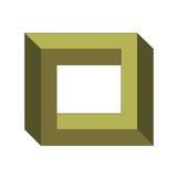 Ilusão ótica Foto de Stock