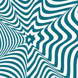 Ilusão ótica Fotografia de Stock