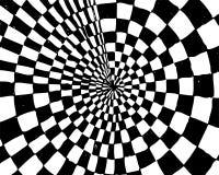 Ilusão ótica Imagens de Stock Royalty Free