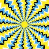 Ilusão ótica da rotação Imagens de Stock Royalty Free
