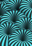 Ilusão ótica do vetor Efeito espiral do furo do túnel Linhas listradas do movimento 3D Imagens de Stock