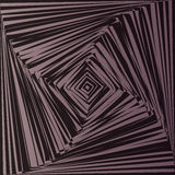 Ilusão ótica geométrica Imagem de Stock Royalty Free
