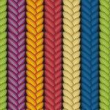 Ilusão ótica: Teste padrão sem emenda abstrato multicolorido Textura Imagens de Stock
