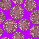Ilusão ótica violeta Fotografia de Stock Royalty Free