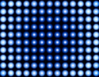 Ilusão azul ilustração stock