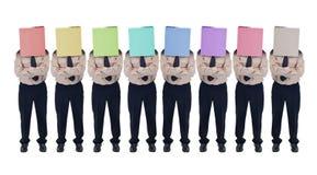 Ilusão da escolha - conceito falsificado da diversidade Foto de Stock Royalty Free