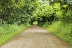 Ilusão da estrada da infinidade Fotografia de Stock Royalty Free