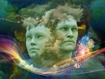 Ilusão da mente Fotografia de Stock Royalty Free